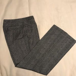 Express black and white trousers size 4